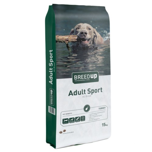 Pienso para perros Breed Up Adult Sport con pavo
