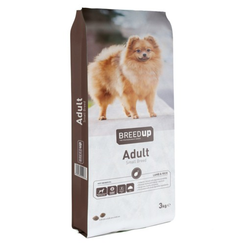 Pienso para perros Breed Up Small Breed con cordero y arroz