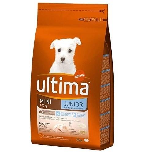 Pienso para perros junior mini Affinity Ultima