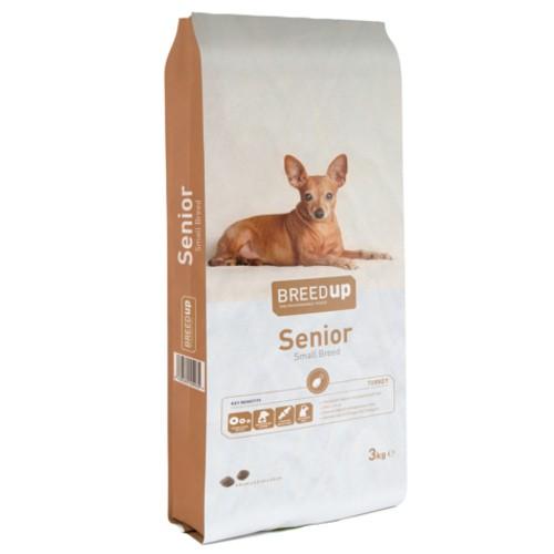 Pienso para perros senior Breed Up Senior Small Breed