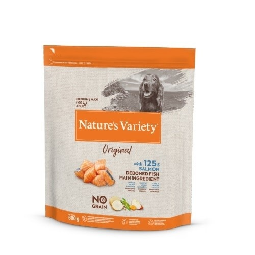 Pienso perros Nature's Original No grain Medium/Maxi Salmón