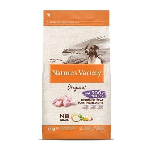 Pienso perros Nature's Variety Original Mini Pavo