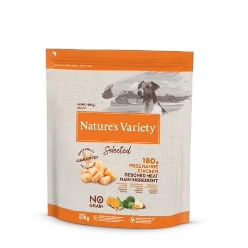Pienso perros Nature's Variety Selected No Grain Mini Pollo