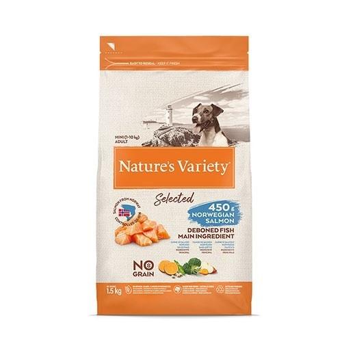 Pienso perros Nature's Variety Selected Mini Salmón