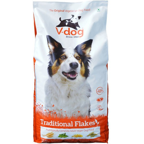 Pienso vegano para perros V-Dog Traditional Flakes
