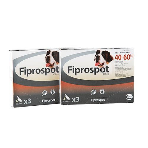 Pipeta Fiprospot antiparasitario para perros 40-60 kg