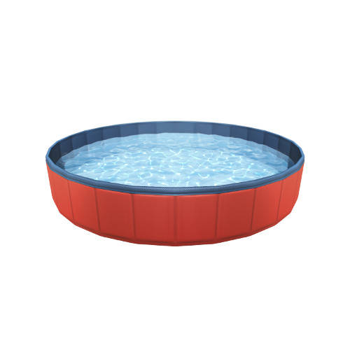 Foldable pool for dogs TK-Pet