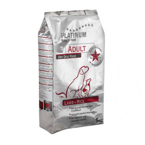 Platinum Adult Lamb&rice natural food for dogs