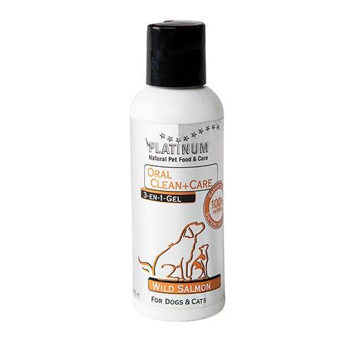 Platinum gel antisarro 3en1 cuidado dental perros y gatos Salmon