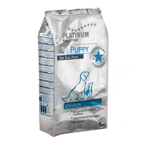 Platinum Puppy chicken natural food for dogs
