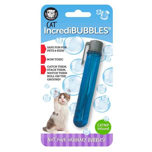 Pompas con catnip para gatos IncrediBubbles