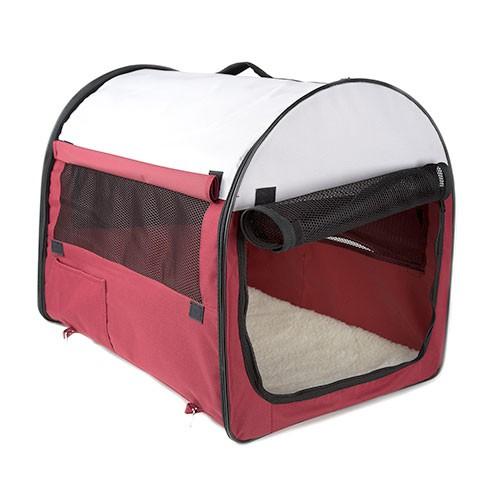 Transportín-Caseta plegable portátil para perros y gatos