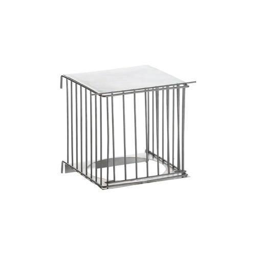 Portanido metálico exterior para jaulas