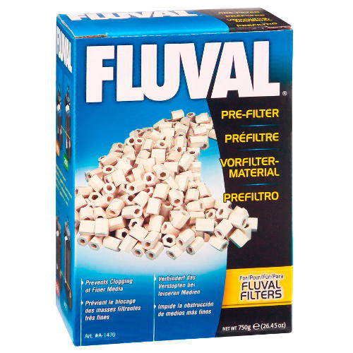 Carga filtrante Pre filtro para retener partículas FLUVAL