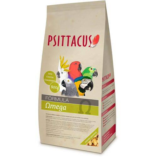 Psittacus Omega para psitácidas