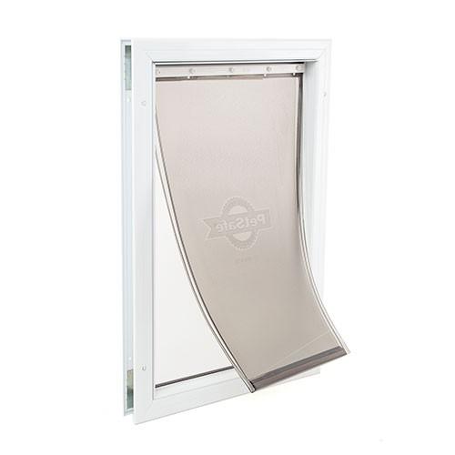 Puerta de aluminio para perros grandes staywell tiendanimal - Puerta vaiven para perros ...