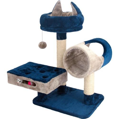 Rascador para gatos con plataformas y cama Savanna Cat