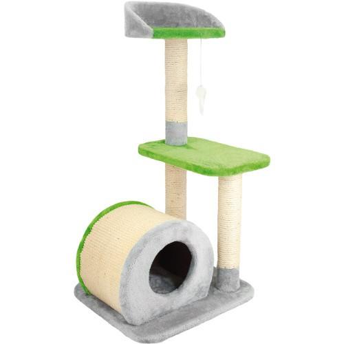 Rascador para gatos con plataformas y rascador Savanna Surf