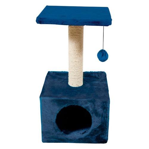 Rascador para gatos Savanna Town azul