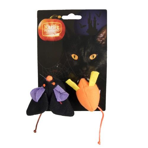 Ratón de peluche para gatos especial halloween