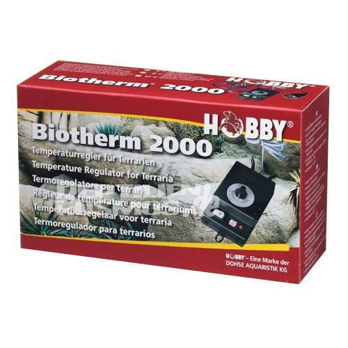 Biotherm 2000 termoregulador con control de temperatura nocturna