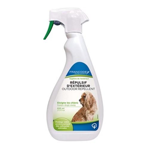 Repelente educativo en exteriores para perros en spray Francodex