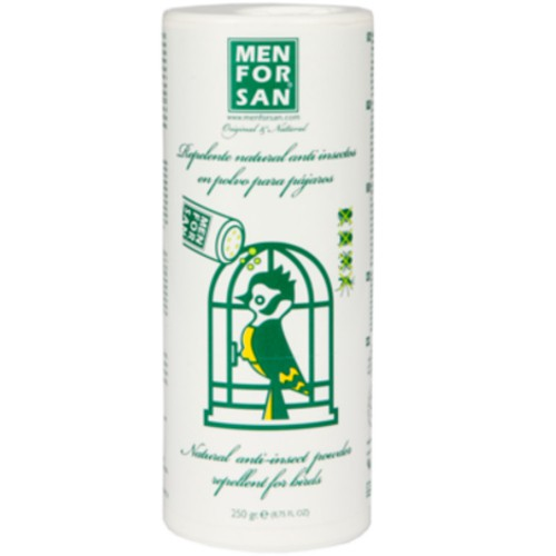 Insect repellent powder natural for birds Menforsan