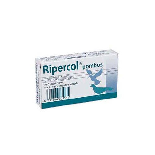 Ripercol antihelmínticos para palomas