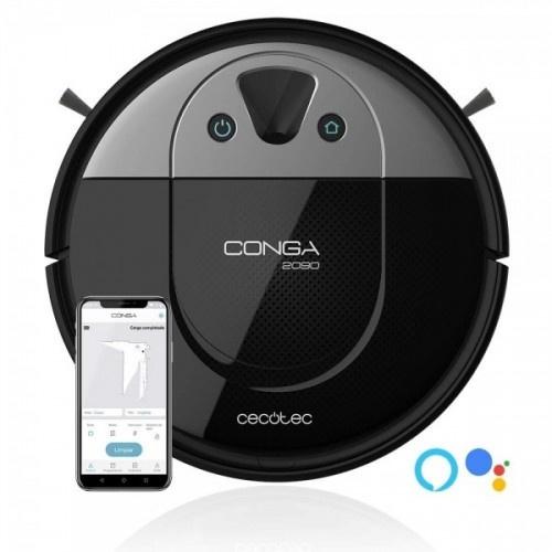 Robot aspirador Conga 2090 Vision color Negro y Gris