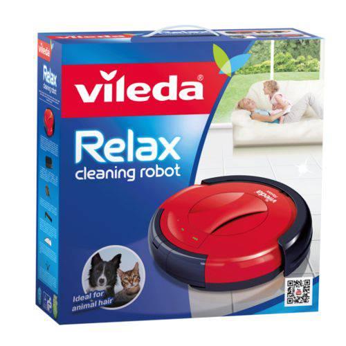 Robot aspirador vileda relax cleaning robot para hogares - Robot de limpieza vileda ...