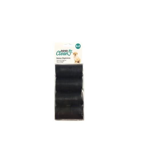 8 rollos bolsas higiénicas Negras Nova Clean