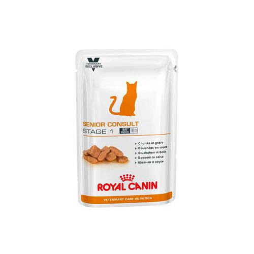 Royal Canin Feline Senior Consult Stage 1 Húmedo