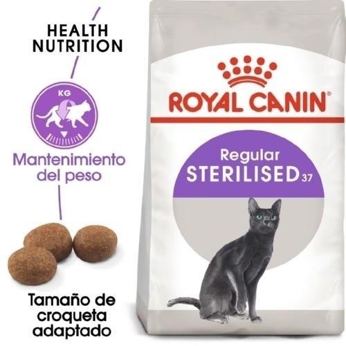 Royal Canin Sterilised 37 pienso para gato adulto esterilizado