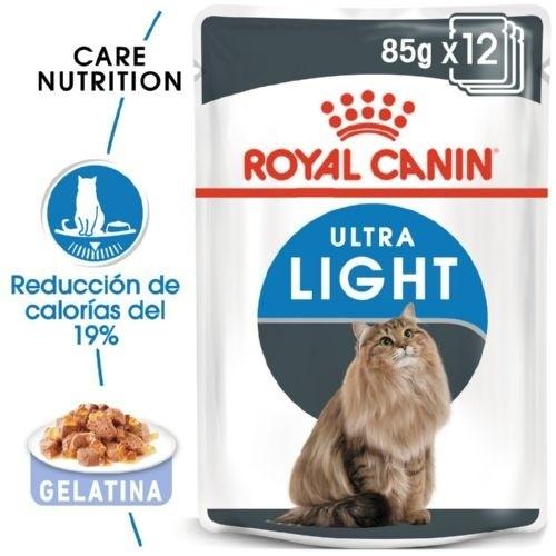Royal Canin Ultra Light en gelatina alimento húmedo para gatos