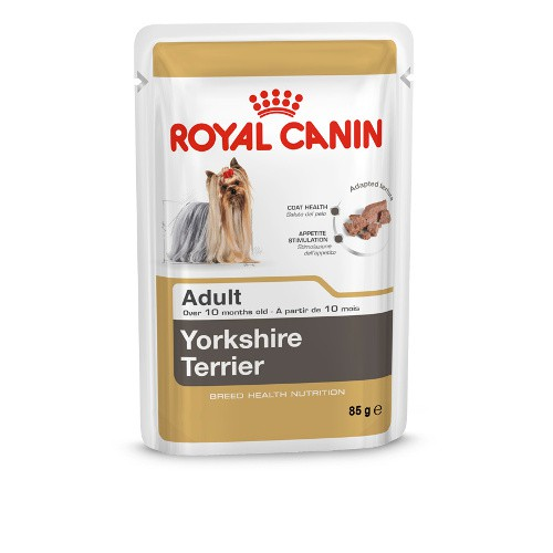 royal canin yorkshire terrier adult comida h meda para perros tiendanimal. Black Bedroom Furniture Sets. Home Design Ideas