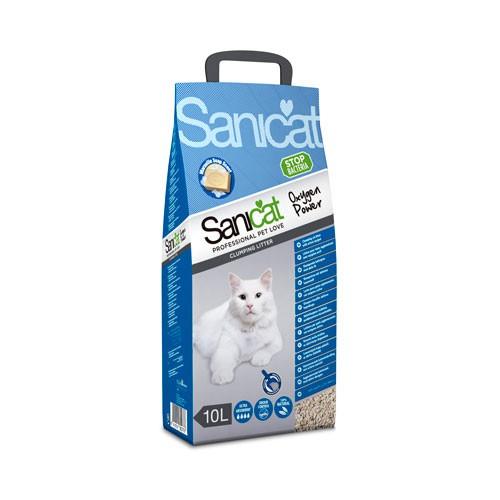 Sanicat Clumping Oxygen power arena aglomerante desinfectante