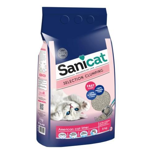 Sanicat Selection American arena ultra aglomerante perfumada