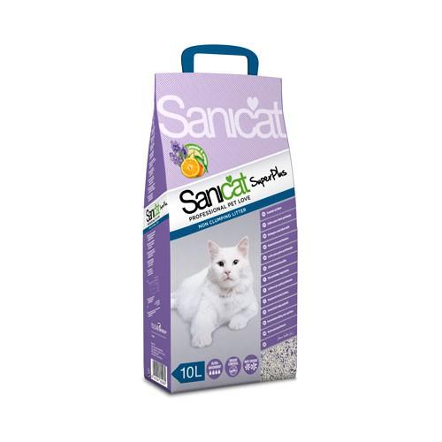 Sanicat Super plus sepiolita arena para gatos aromatizada
