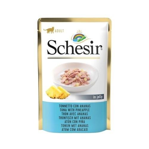 Schesir bolsitas de comida húmeda atún y piña