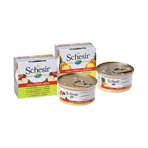 Schesir Perros con frutas Alimento superpremium húmedo