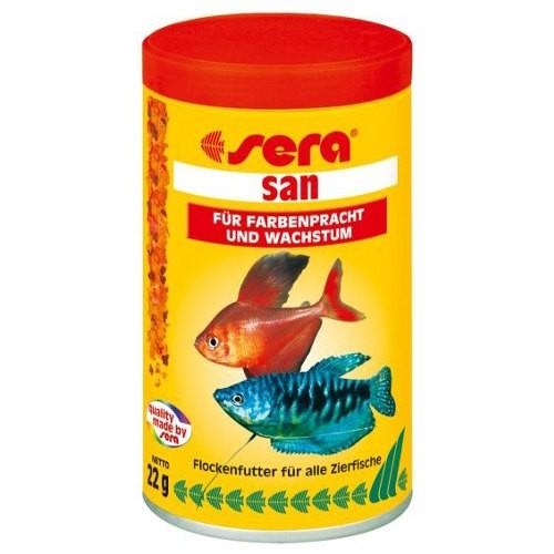 Sera san alimento para peces tiendanimal for Comida para peces
