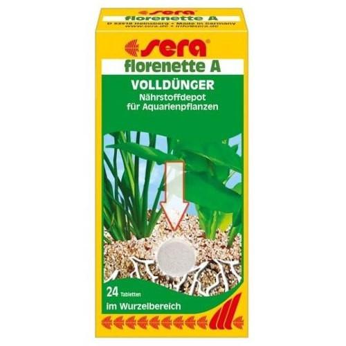 SERA Florenette A Fertilizante para plantas acuáticas