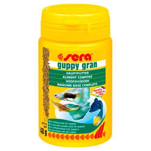 SERA Alimento especial para guppys Guppy Gran