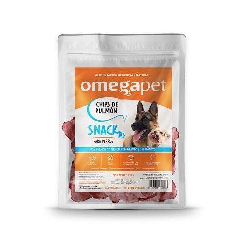 Snack de Chips de Pulmón de Ternera 100% natural para perros