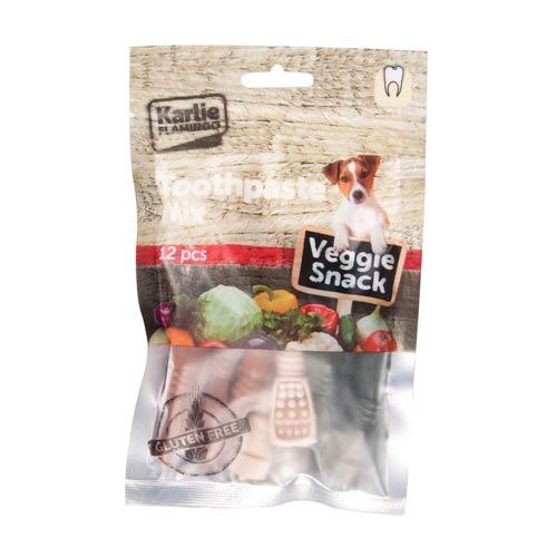 Snack dental para perros sabores surtidos Veggie