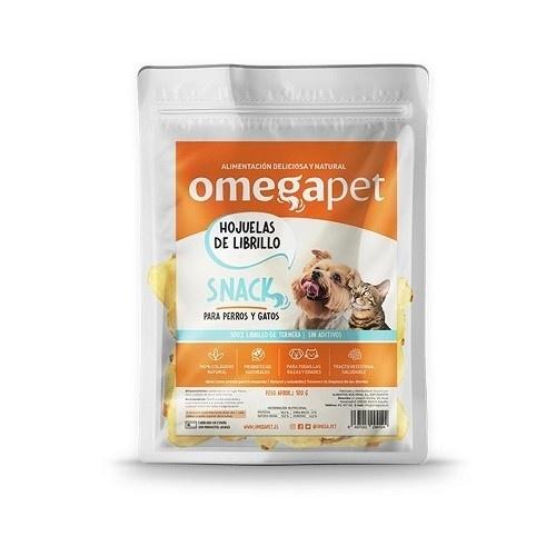 Snack de Hojuelas de Librillo de Ternera 100% natural para mascotas