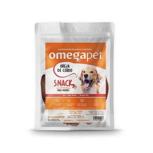Snack de Oreja de Cerdo 100% natural para perros