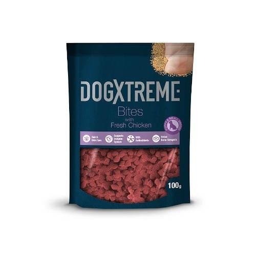 Snack para cachorros Dogxtreme sabor pollo 100 g