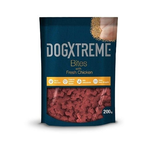 Snack para perros Dogxtreme sabor pollo 200 g