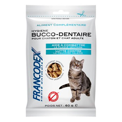 Snack para gatos higiene buco dental Francodex